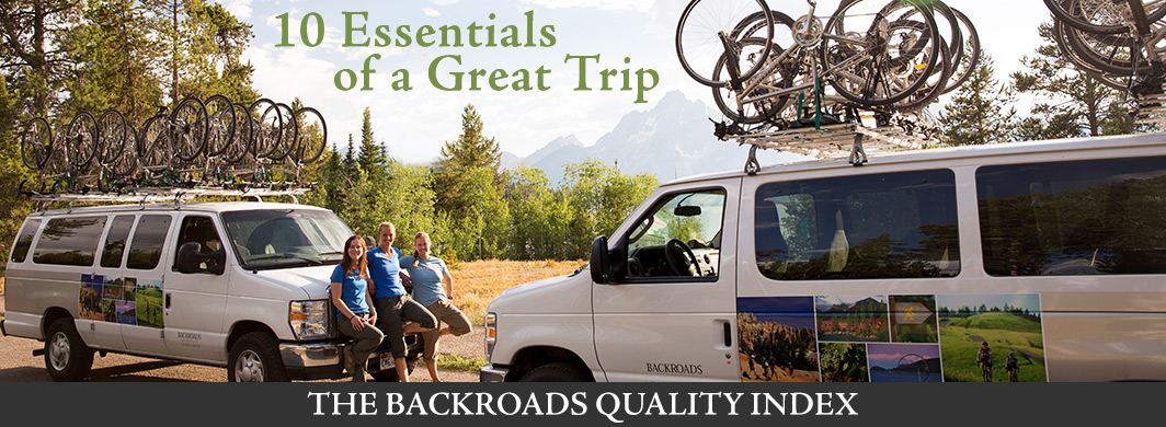 Backroads Quality Index
